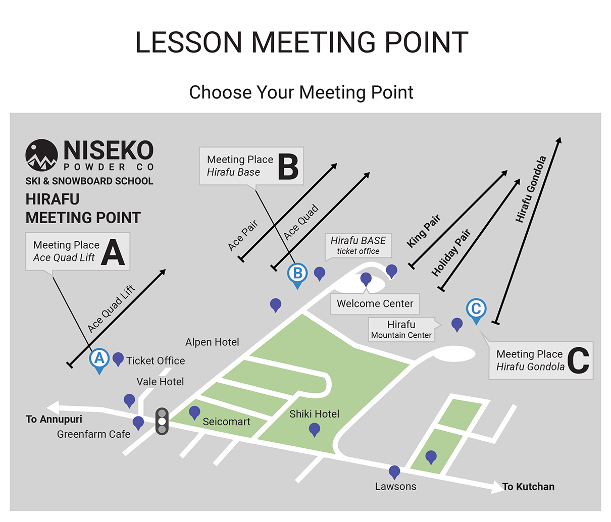 Lesson Meeting Point